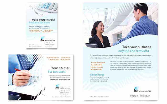 Accounting Firm Flyer Ad Templates FN D