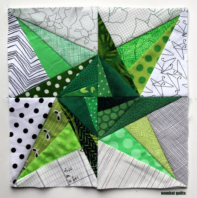 8 inch stars a new paper piecing adventure