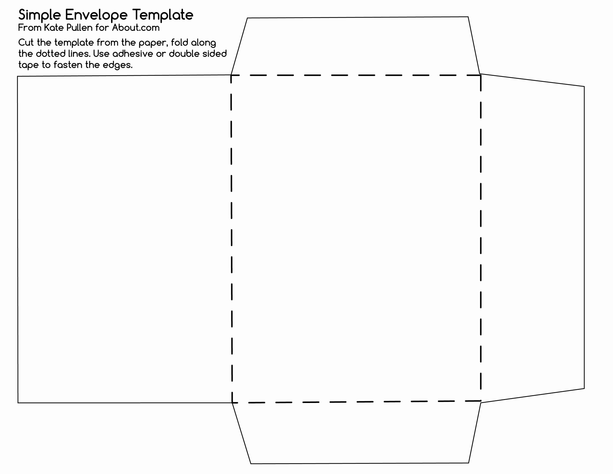 13 images of 10 envelope template 4884