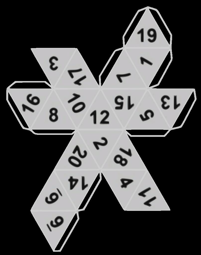 12 Sided Dice Template Beautiful File Estructura Creación De D20g Wikimedia Mons