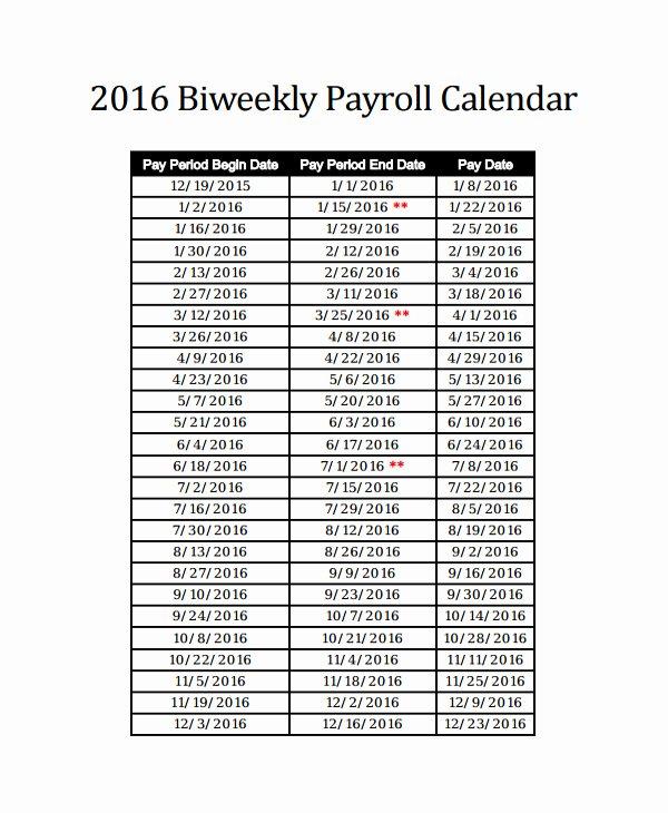 35 semi monthly payroll calendar 2019 template