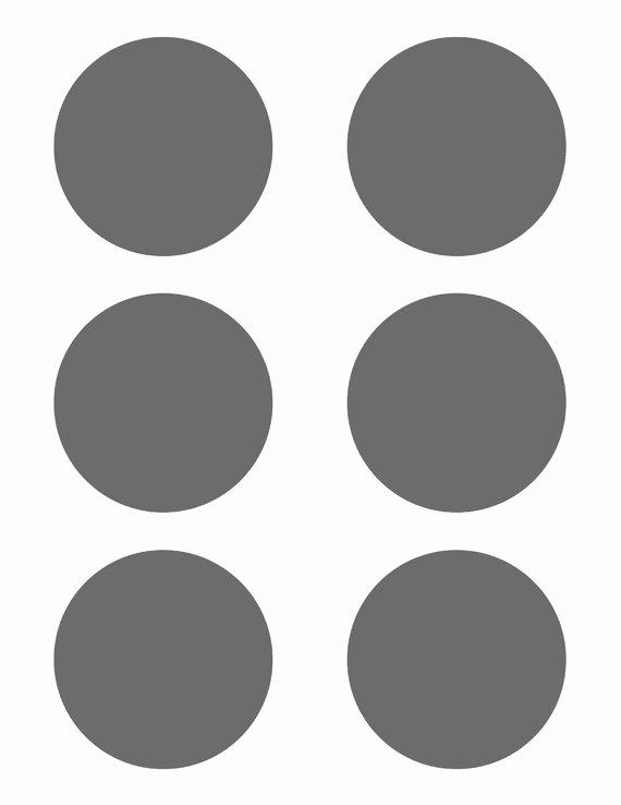 3 Inch Diameter Circle Template Best Of Psd Template 6 Circles 3 Inch Diameter by Eccentricocean
