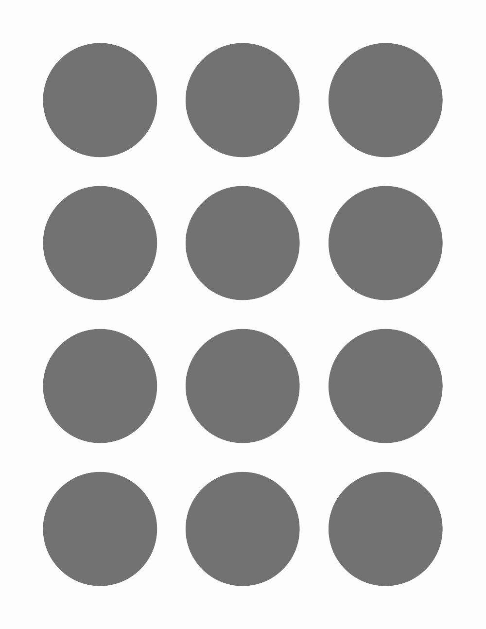3 Inch Diameter Circle Template Elegant Psd Template 12 Circles 2 Inch Diameter