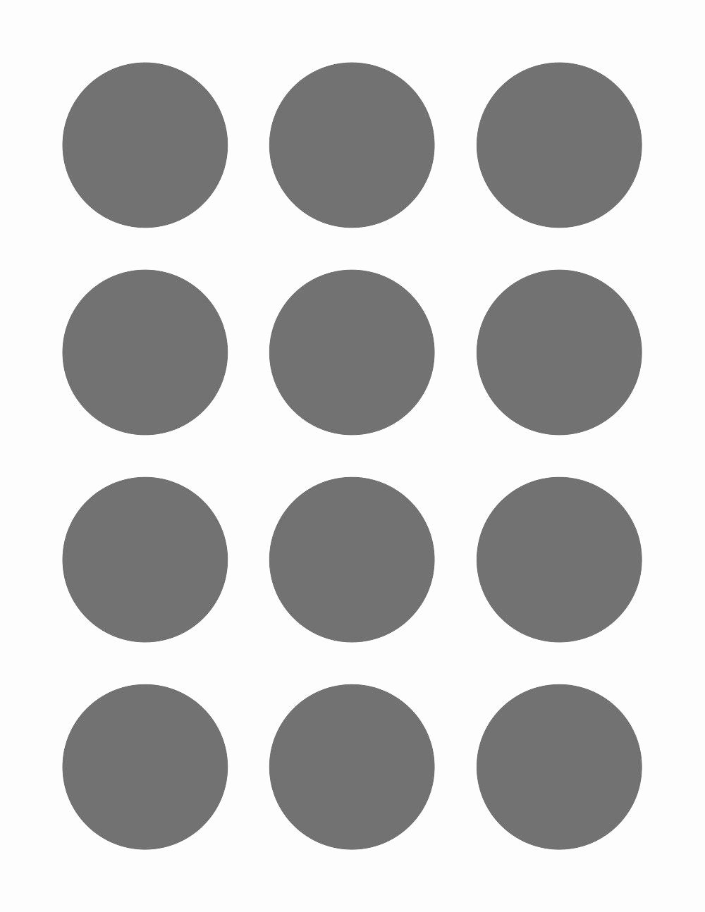 3 Inch Diameter Circle Template Fresh Psd Template 12 Circles 2 Inch Diameter From
