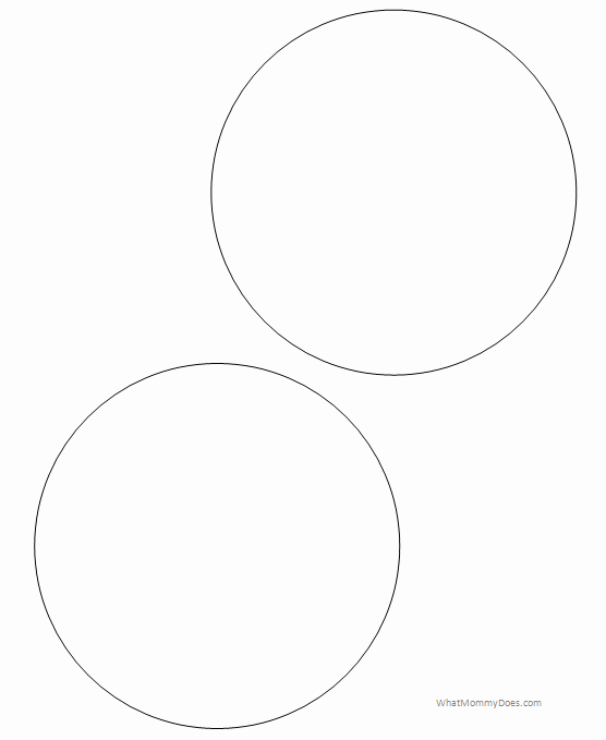 3 Inch Diameter Circle Template Inspirational Free Printable Circle Templates and Small Stencils