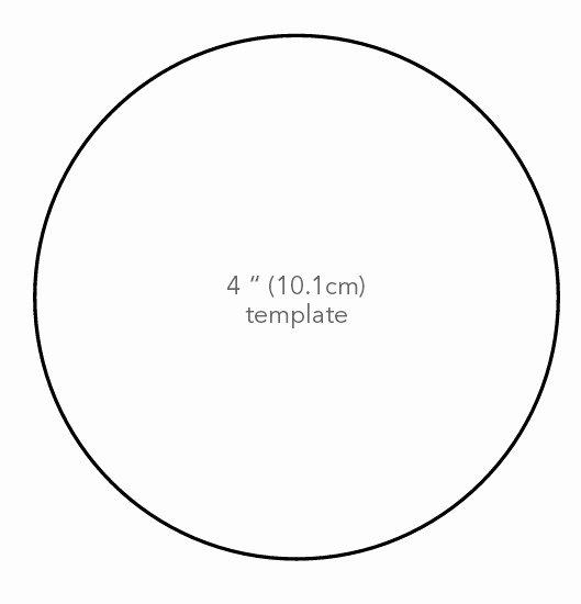 3 Inch Diameter Circle Template Lovely Memory Lane Poppy Bouquet