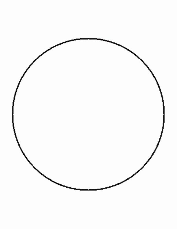 3 Inch Diameter Circle Template Luxury Best S Of 11 Inch Circle Template Printable 8 Inch