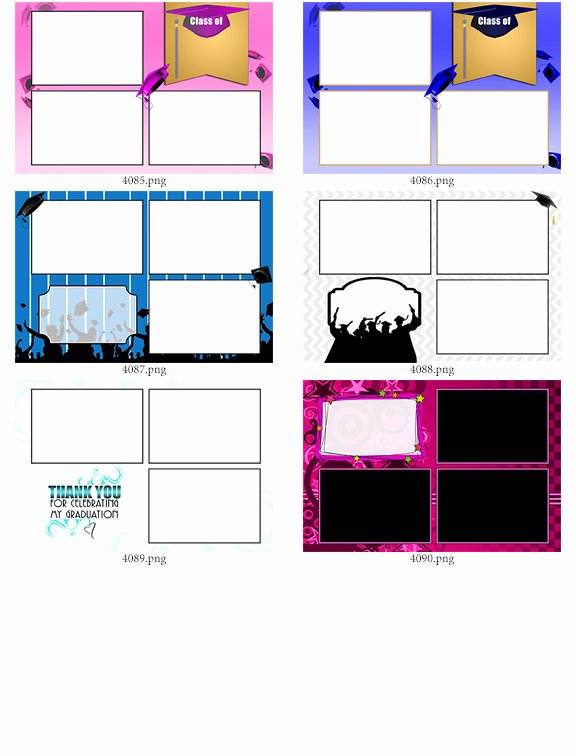 30 4x6 photo strip templates bundle c darkroom booth