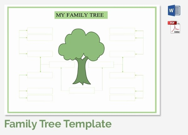 5 Generation Family Tree Template Excel Fresh Family Tree Maker Templates
