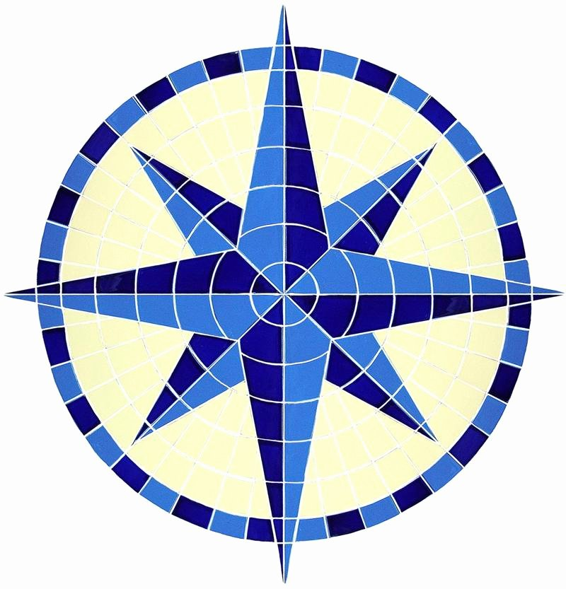 eight pointed star pattern