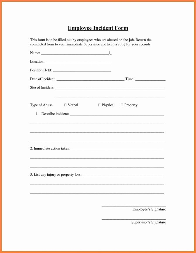 Accident Report Template Word Inspirational Accident Report form Template Word Uk Hse for Workplace