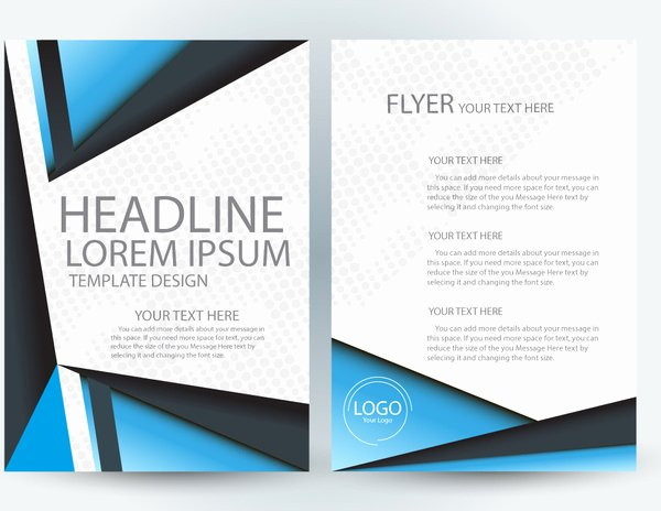 adobe illustrator flyer template