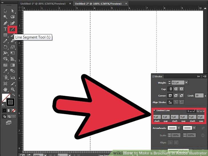 Adobe Illustrator Brochure Templates Best Of How to Make A Brochure In Adobe Illustrator 10 Steps