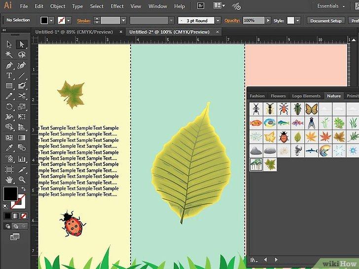 Adobe Illustrator Brochure Templates Fresh E Creare Una Brochure Con Adobe Illustrator
