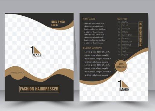 Adobe Illustrator Brochure Templates Fresh Portfolio Template Adobe Illustrator Free Vector