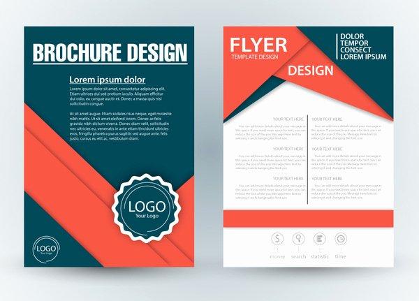 Adobe Illustrator Brochure Templates Fresh Sales Brochure Template Csoforumfo