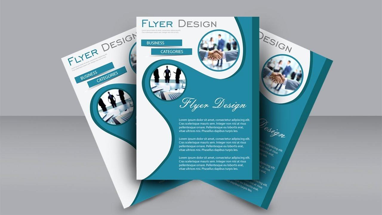 Adobe Illustrator Brochure Templates Inspirational Easy Flyer Design Tutorial Adobe Illustrator