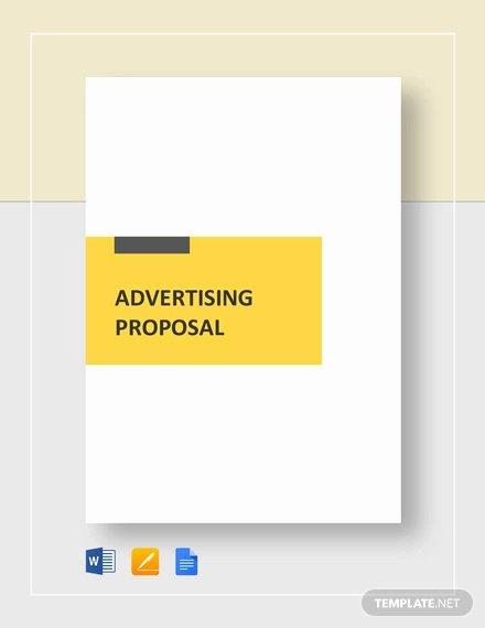 advertising proposal