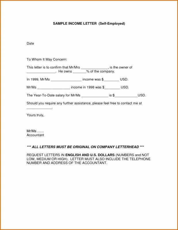 Affidavit Of No Income New Proof In E Letter