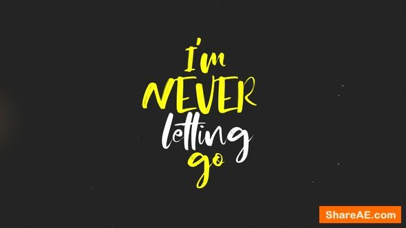 After Effects Lyric Video Template Inspirational Videohive Lyrics Kinetic Typography 2 Free after Effects