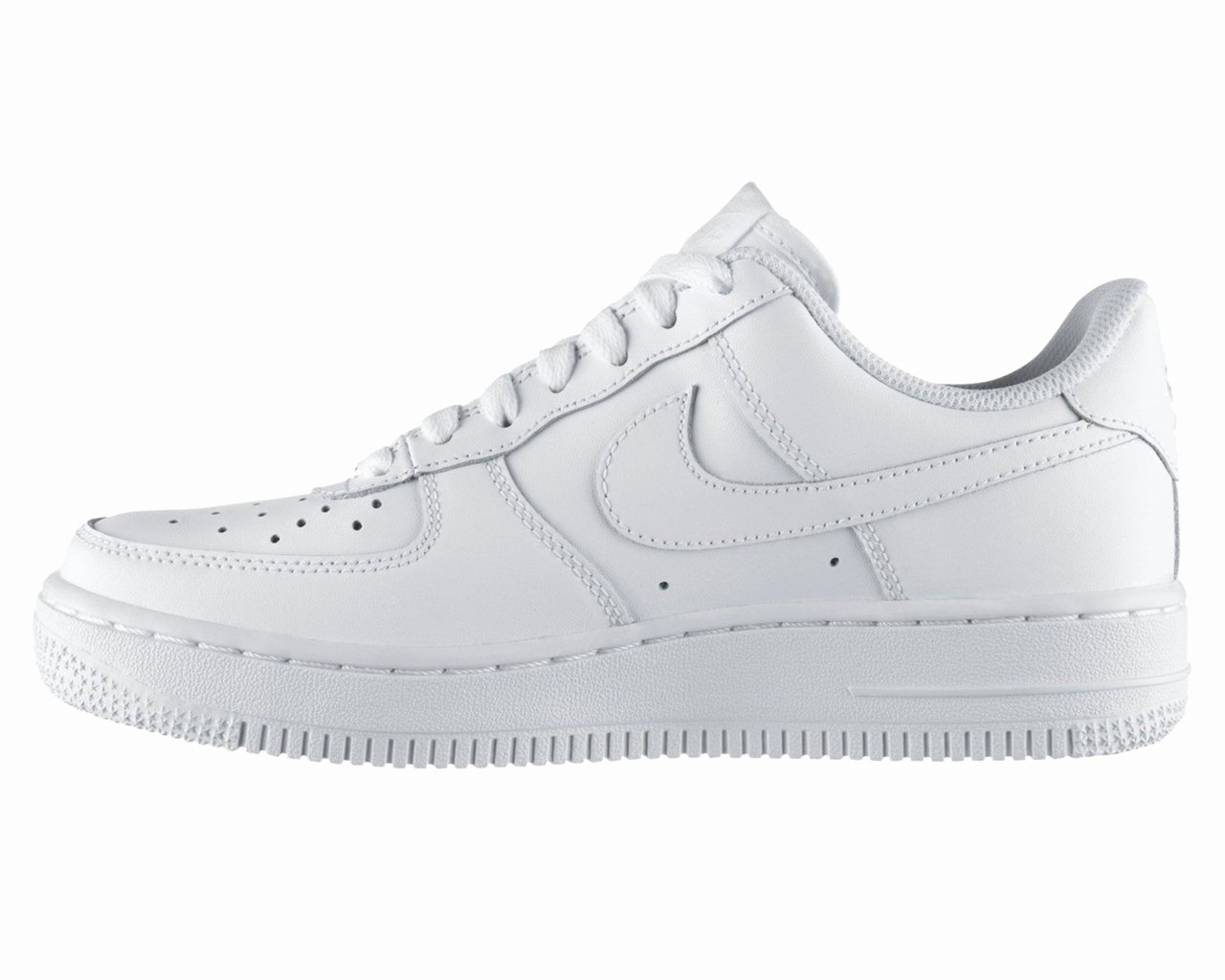 Air force Lost Receipt form New Boys Girls Nike Air force 1 Gs 117 White Leather