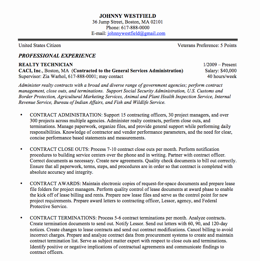 Air force Position Paper Template Unique Federal Resume Sample and format the Resume Place