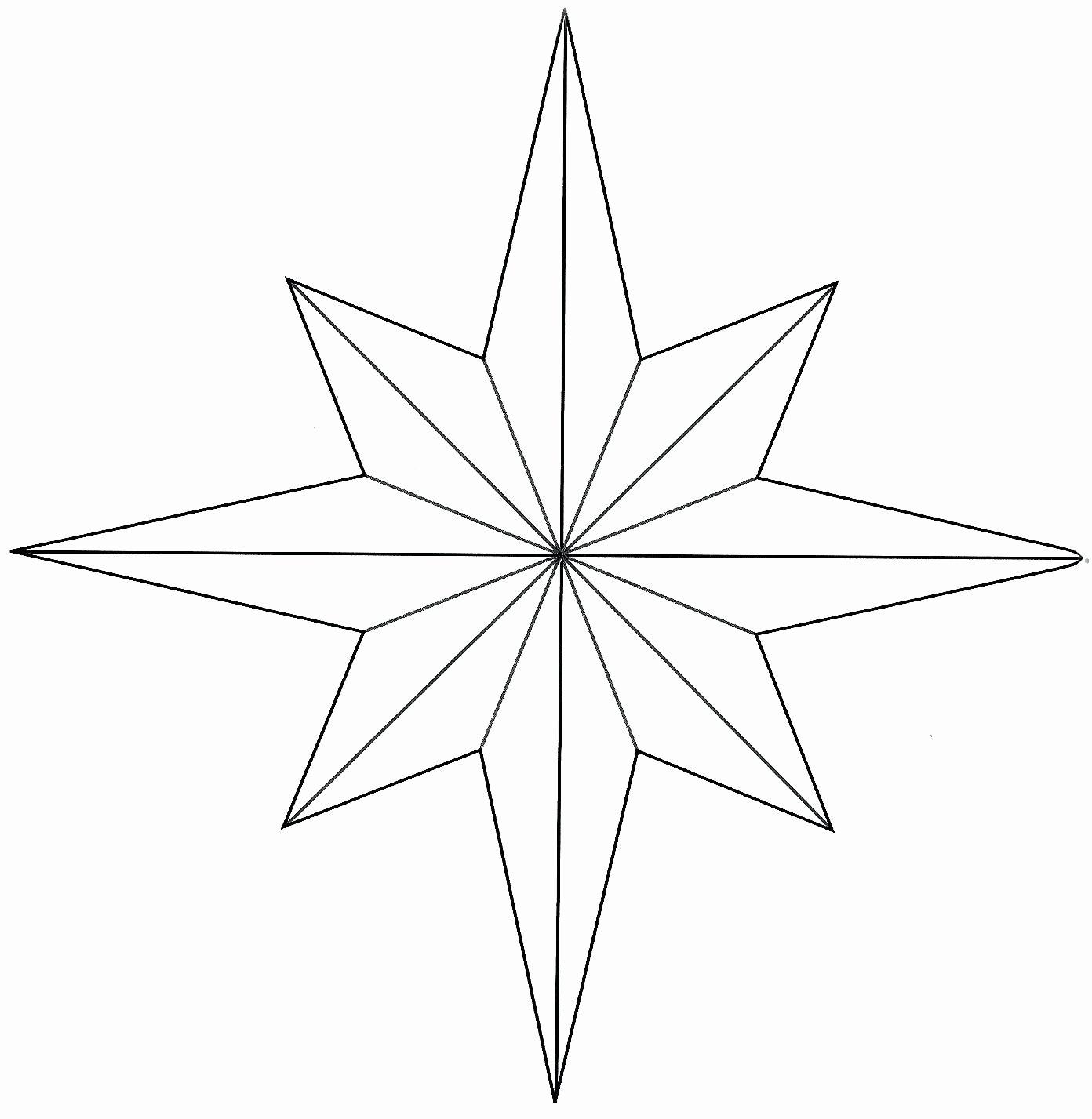 American Flag Star Stencil Printable Best Of Star Drawing Outline at Getdrawings