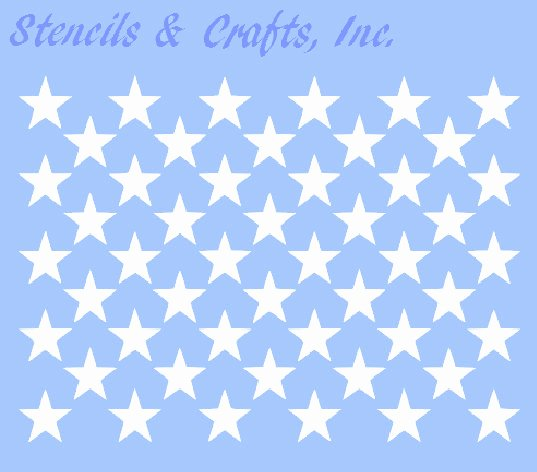 American Flag Star Stencil Printable Lovely 1 25 Star Stencil 50 Stars Celestial