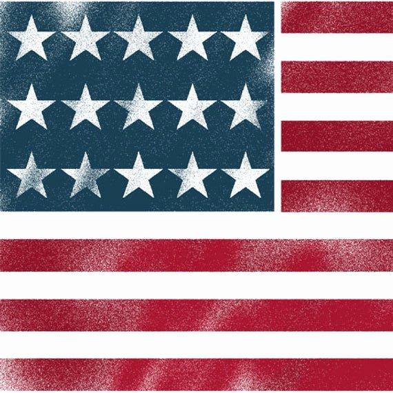 American Flag Star Stencil Printable Lovely American Flag Stencil Usa Flag Wall Art Star by Idealstencils