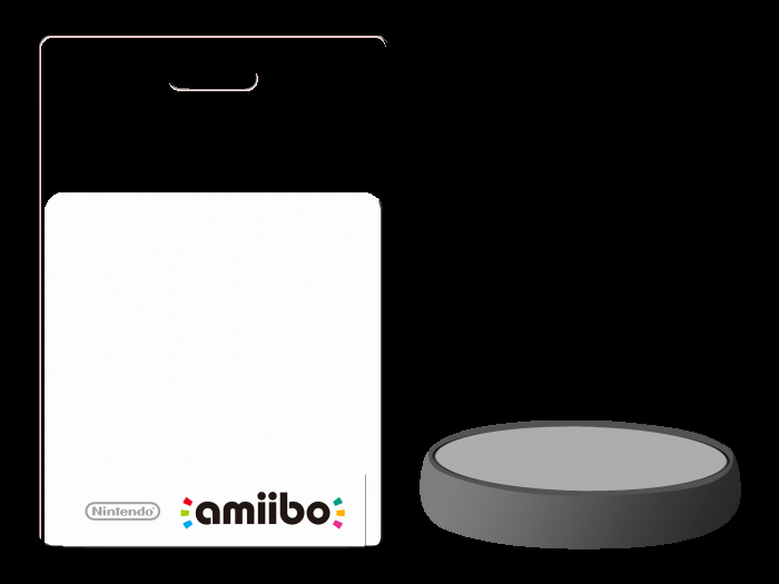 amiibo package figurine template