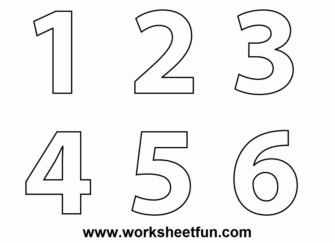 Answer Sheet Template 1-100 Best Of Clipart Numbers 1 5 Clipground