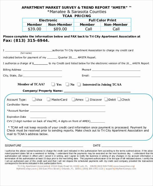 Apartment Market Survey form Fresh 60 Sample Survey forms Word Pdf