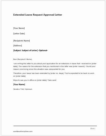 Approval Letter Example Beautiful Credit Approval Letter Template for Word