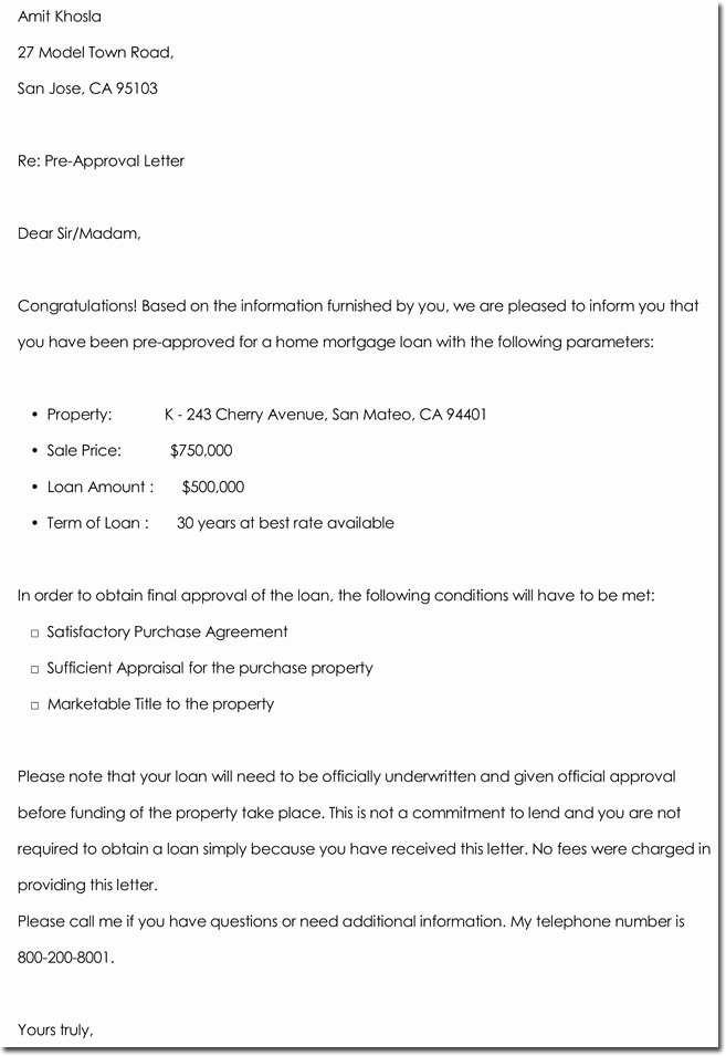 approval letter templates