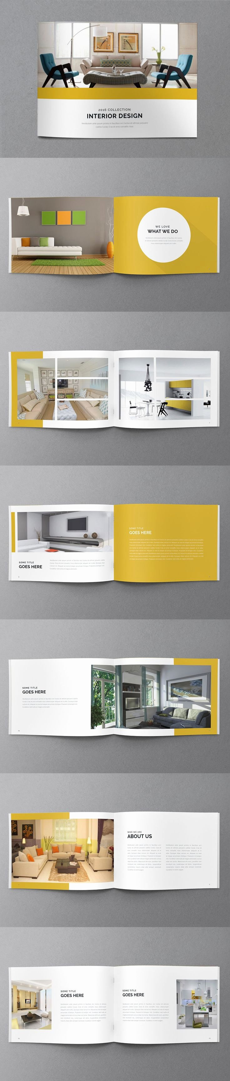 Architecture Portfolio Template Indesign Best Of 15 Must See Brochure Cover Pins