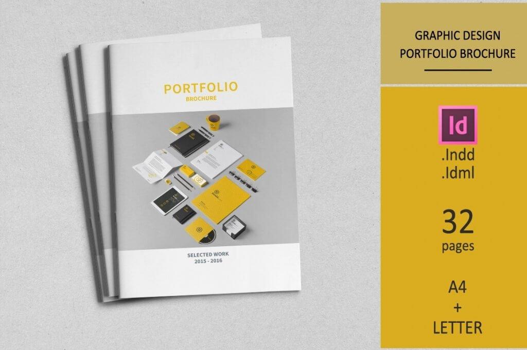 Architecture Portfolio Template Indesign New 70 Modern Corporate Brochure Templates
