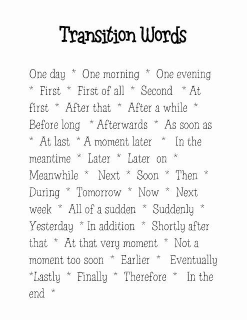 Argumentative Essay Transition Words Pdf New Transition Words On Pinterest