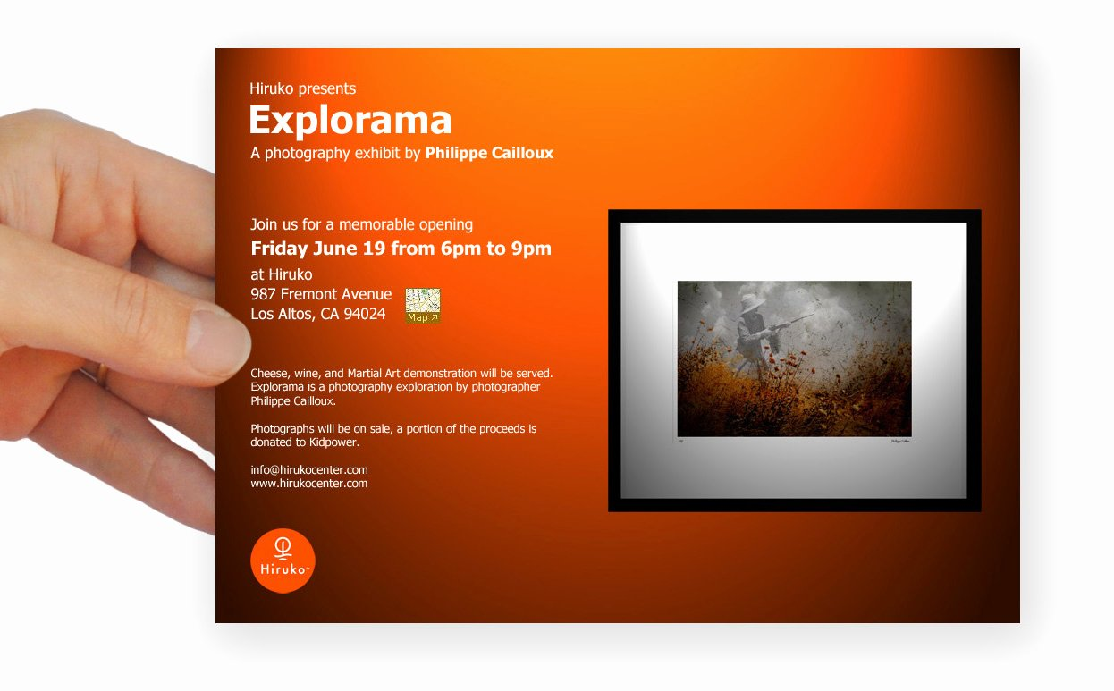 Art Show Invitation Template Awesome Planning A Photography Exhibit