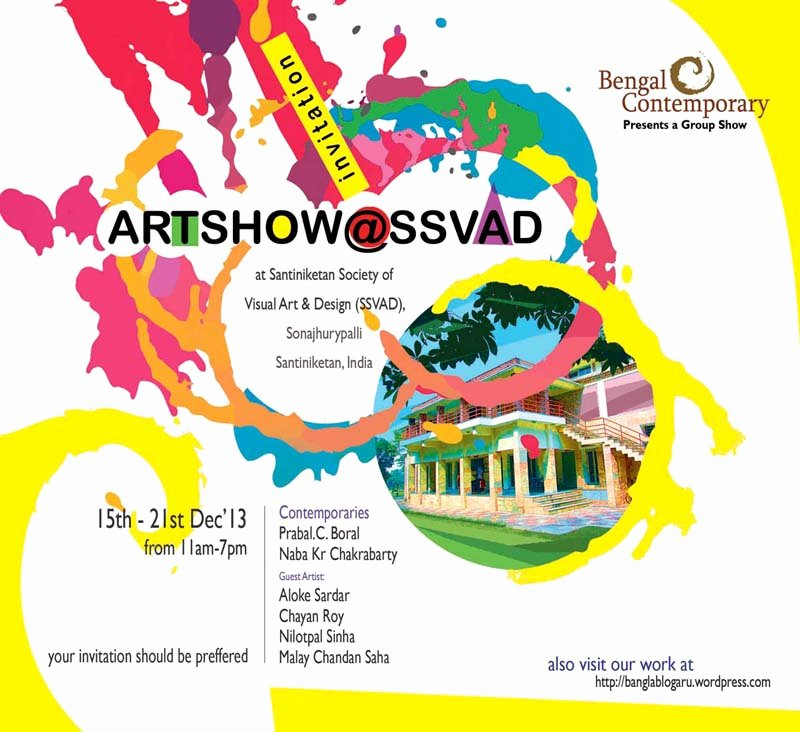 Art Show Invitation Template Beautiful Wel E