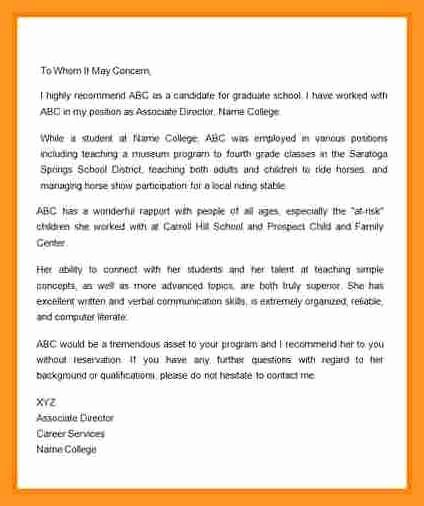 Autobiography for Grad School Best Of Supervisor Letter Of Re Mendation