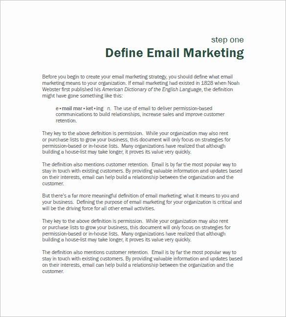 B2b Proposal Template Fresh 11 B2b Marketing Plan Template Free Sample Example