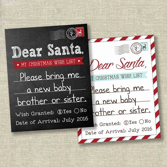 Baby Announcement Email Unique Christmas Pregnancy Announcement Christmas Announcement