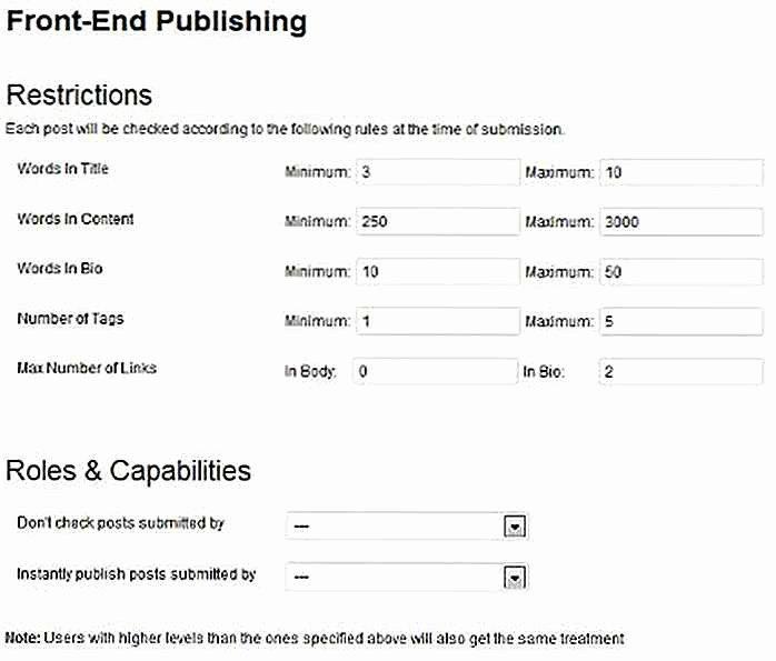 Back Charge Construction Inspirational 12 Wordpress Plugins Zur Verwaltung Von Front End Inhalten