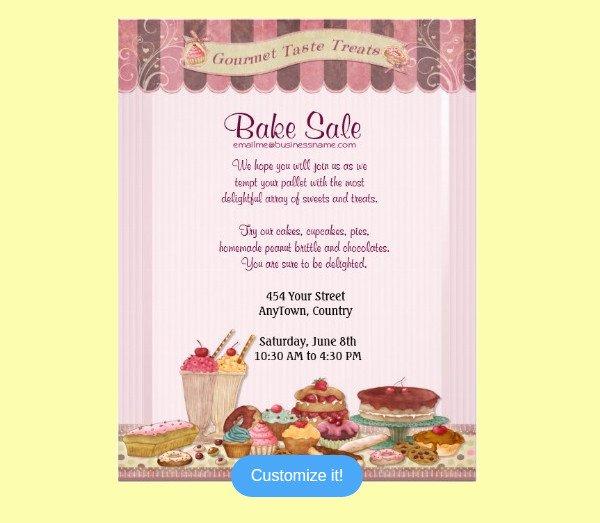 Bake Sale Flyer Ideas Beautiful 28 Bake Sale Flyer Templates Psd Vector Eps Jpg