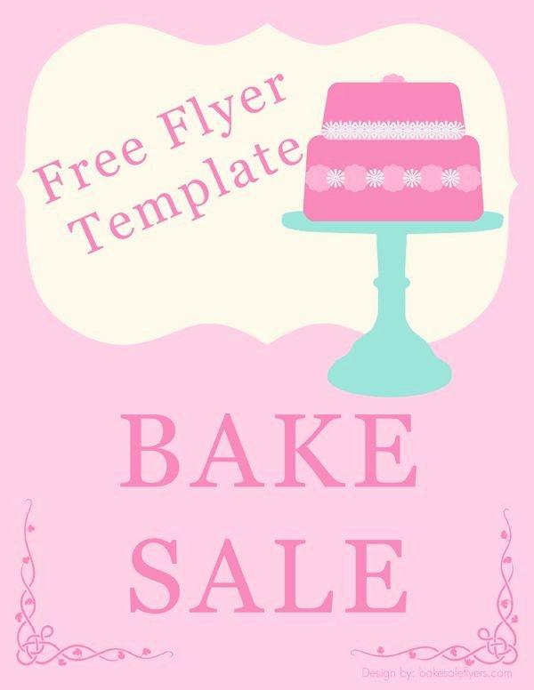 Bake Sale Flyer Ideas Inspirational Bake Sale Flyer Template