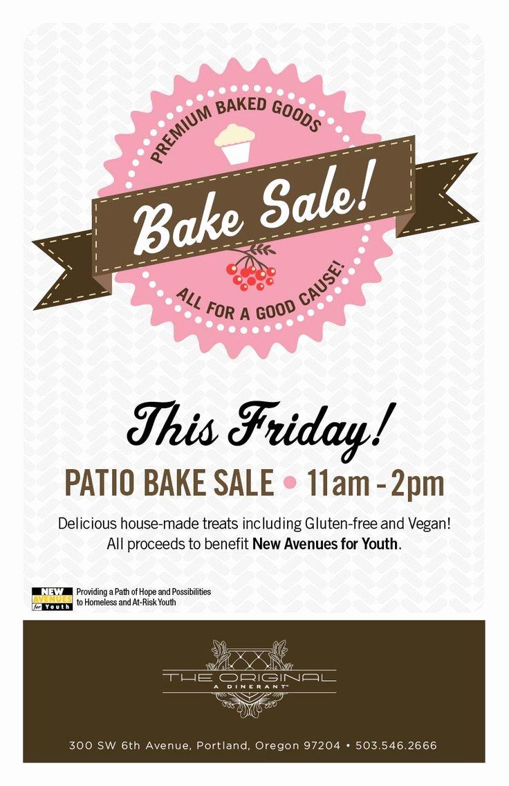 Bake Sale Flyer Ideas Luxury 25 Best Ideas About Bake Sale Flyer On Pinterest