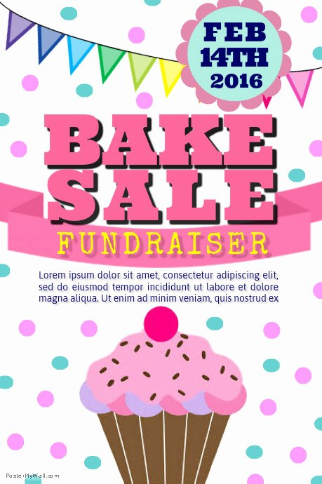 Bake Sale Flyer Templates Free Best Of Bake Sale Template