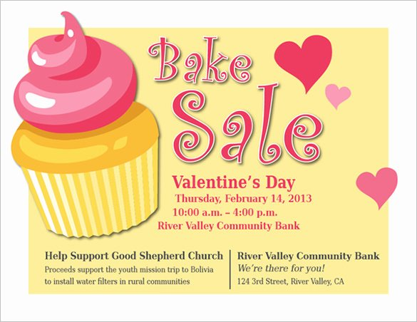 Bake Sale Flyer Templates Free Inspirational 34 Bake Sale Flyer Templates Free Psd Indesign Ai