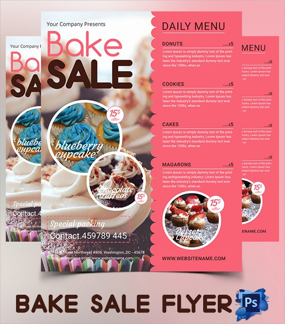 Bake Sale Flyer Templates Free Luxury 20 Bake Sale Flyer Templates