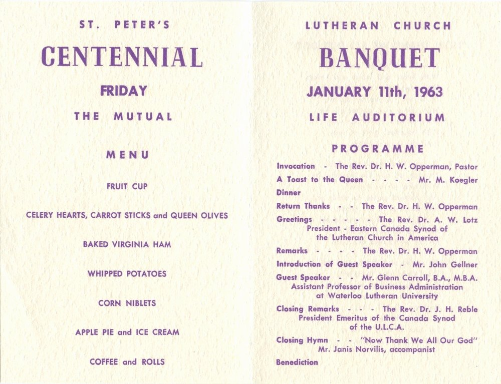 Banquet Program Template Unique Program Ideas for Church Anniversary